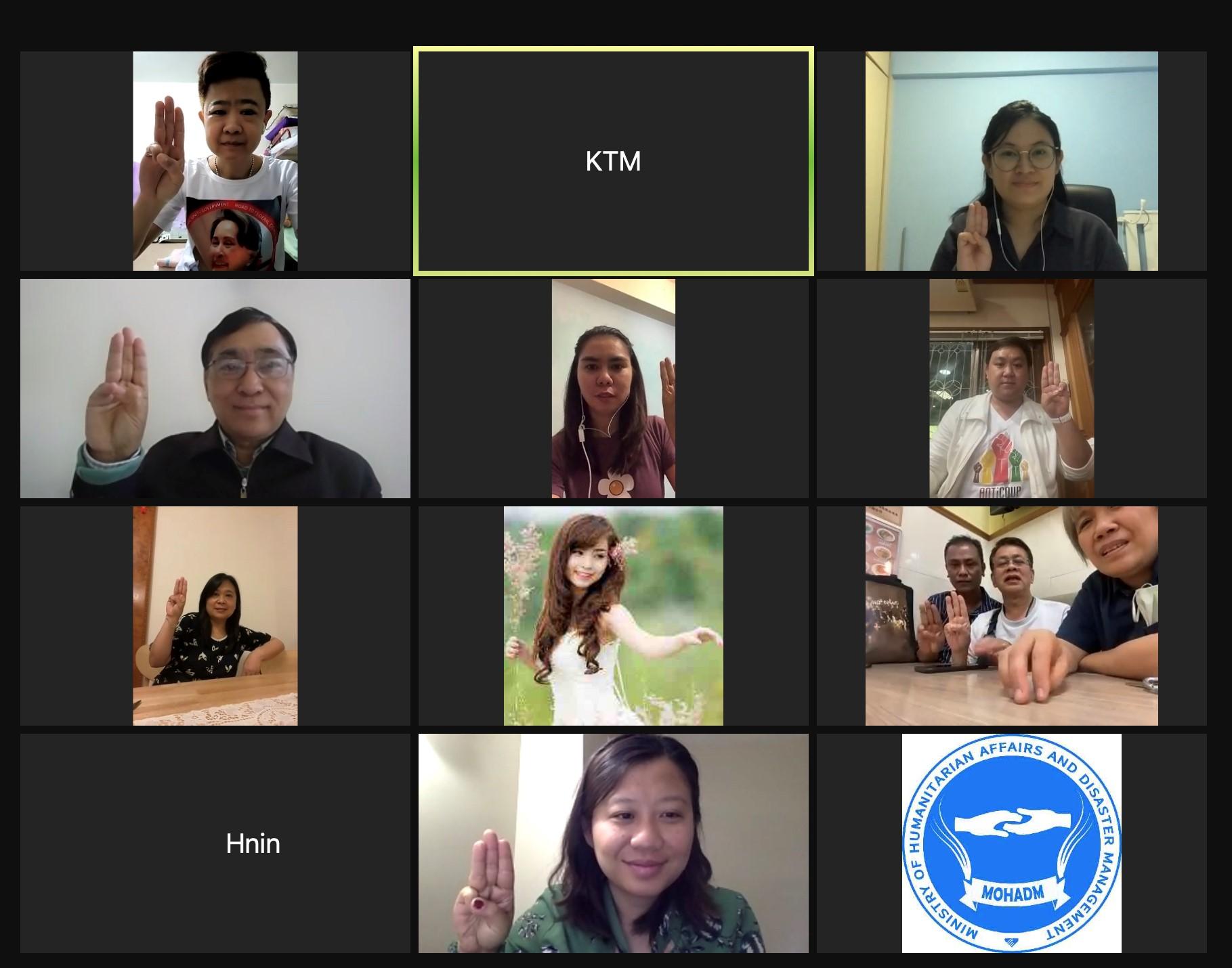 Meeting with Myanmar Youth Society Macau